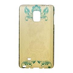 Art Nouveau Green Galaxy Note Edge by 8fugoso