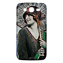 Lady Of Summer 1920 Art Deco Samsung Galaxy Mega 5 8 I9152 Hardshell Case  by 8fugoso
