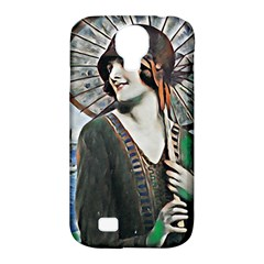 Lady Of Summer 1920 Art Deco Samsung Galaxy S4 Classic Hardshell Case (pc+silicone)