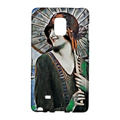 Lady Of Summer 1920 Art Deco Galaxy Note Edge by 8fugoso