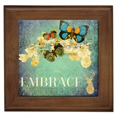 Embrace Shabby Chic Collage Framed Tiles by 8fugoso