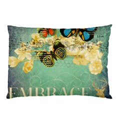 Embrace Shabby Chic Collage Pillow Case