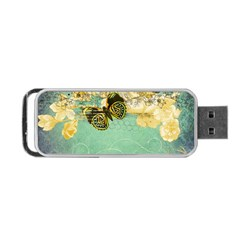 Embrace Shabby Chic Collage Portable Usb Flash (two Sides) by 8fugoso