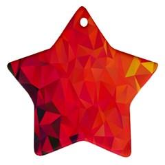 Triangle Geometric Mosaic Pattern Ornament (star)
