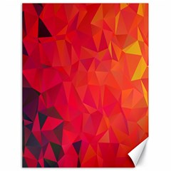 Triangle Geometric Mosaic Pattern Canvas 18  X 24
