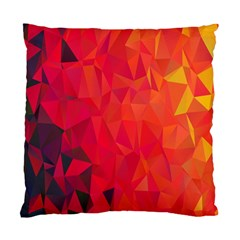 Triangle Geometric Mosaic Pattern Standard Cushion Case (one Side)