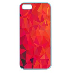 Triangle Geometric Mosaic Pattern Apple Seamless Iphone 5 Case (color)