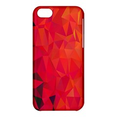 Triangle Geometric Mosaic Pattern Apple Iphone 5c Hardshell Case by Nexatart