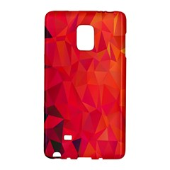 Triangle Geometric Mosaic Pattern Galaxy Note Edge