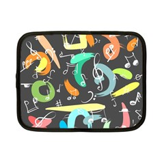 Repetition Seamless Child Sketch Netbook Case (small)
