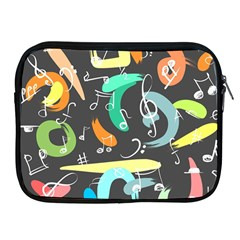 Repetition Seamless Child Sketch Apple Ipad 2/3/4 Zipper Cases