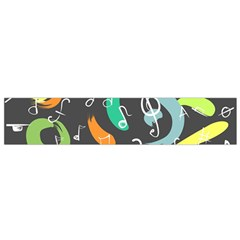 Repetition Seamless Child Sketch Small Flano Scarf
