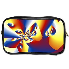 Mandelbrot Math Fractal Pattern Toiletries Bags 2 Side