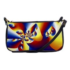Mandelbrot Math Fractal Pattern Shoulder Clutch Bags by Nexatart