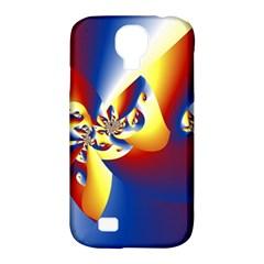 Mandelbrot Math Fractal Pattern Samsung Galaxy S4 Classic Hardshell Case (pc+silicone)
