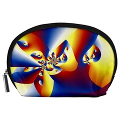 Mandelbrot Math Fractal Pattern Accessory Pouches (large)