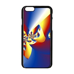 Mandelbrot Math Fractal Pattern Apple Iphone 6/6s Black Enamel Case by Nexatart
