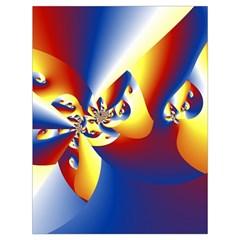 Mandelbrot Math Fractal Pattern Drawstring Bag (large) by Nexatart