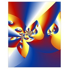 Mandelbrot Math Fractal Pattern Drawstring Bag (small) by Nexatart