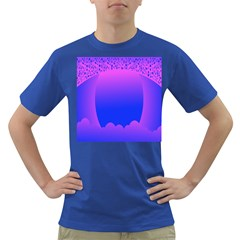 Abstract Bright Color Dark T Shirt