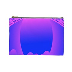 Abstract Bright Color Cosmetic Bag (large)