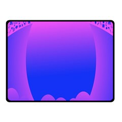 Abstract Bright Color Fleece Blanket (small)