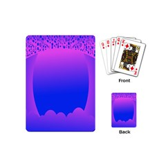 Abstract Bright Color Playing Cards (mini)  by Nexatart