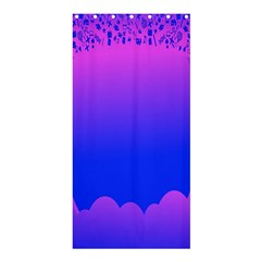 Abstract Bright Color Shower Curtain 36  X 72  (stall)