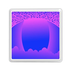 Abstract Bright Color Memory Card Reader (square)