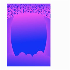 Abstract Bright Color Small Garden Flag (two Sides)