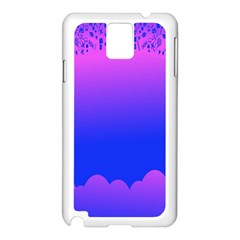Abstract Bright Color Samsung Galaxy Note 3 N9005 Case (white)