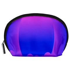 Abstract Bright Color Accessory Pouches (large)