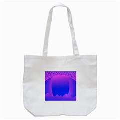 Abstract Bright Color Tote Bag (white) by Nexatart