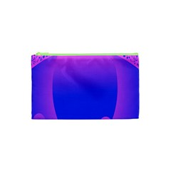 Abstract Bright Color Cosmetic Bag (xs)