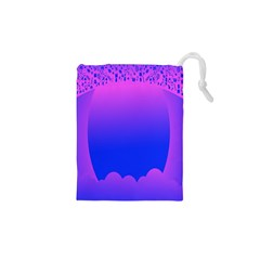 Abstract Bright Color Drawstring Pouches (xs)