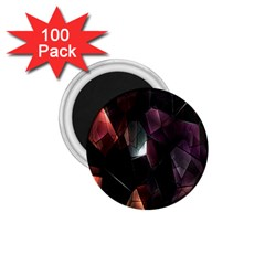 Crystals Background Design Luxury 1 75  Magnets (100 Pack)