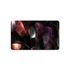 Crystals Background Design Luxury Magnet (name Card)