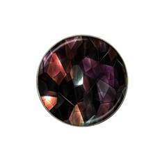 Crystals Background Design Luxury Hat Clip Ball Marker (4 Pack)