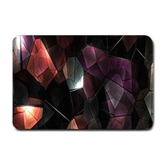 Crystals Background Design Luxury Small Doormat