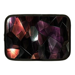 Crystals Background Design Luxury Netbook Case (medium)