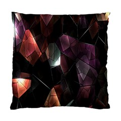 Crystals Background Design Luxury Standard Cushion Case (one Side)