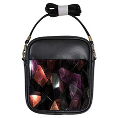 Crystals Background Design Luxury Girls Sling Bags