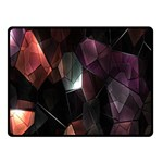 Crystals Background Design Luxury Fleece Blanket (Small) 50 x40 Blanket Front