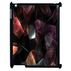 Crystals Background Design Luxury Apple Ipad 2 Case (black)