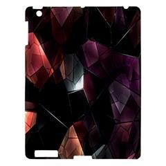 Crystals Background Design Luxury Apple Ipad 3/4 Hardshell Case
