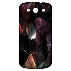 Crystals Background Design Luxury Samsung Galaxy S3 S Iii Classic Hardshell Back Case