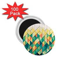 Background Geometric Triangle 1 75  Magnets (100 Pack)  by Nexatart