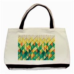Background Geometric Triangle Basic Tote Bag (two Sides)