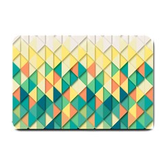 Background Geometric Triangle Small Doormat