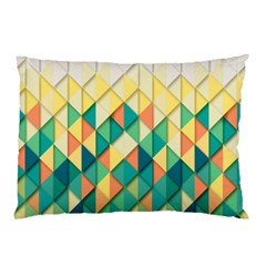 Background Geometric Triangle Pillow Case